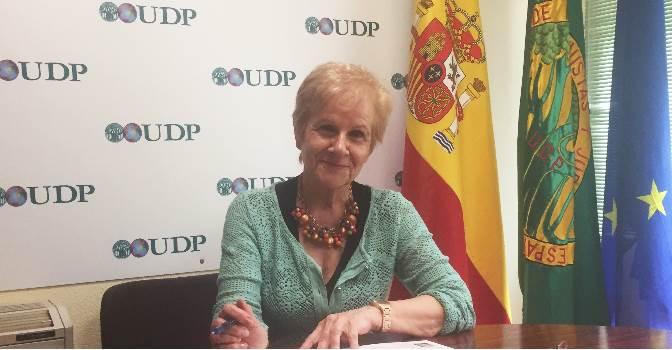 Paca Tricio, vicepresidenta de la Unión Democrática de Pensionistas (UDP).