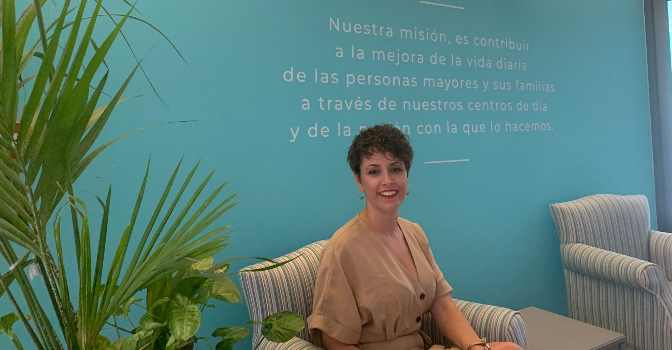 """Patricia del Barco: """"Los centros de día coopetimos con los demás recursos, somos complementarios"""""""