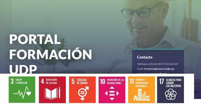 UDP lanza un nuevo portal de formación online para mayores en asociaciones