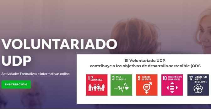 UDP pone en marcha el Portal del Voluntariado, con formación y actividades para mayores