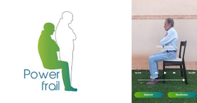 PowerFrail es una app para medir la fragilidad en personas mayores con la cámara del móvil.