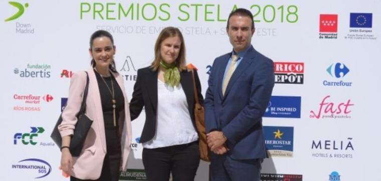 La contratación de discapacitados de Orpea y Ballesol, premios Stela