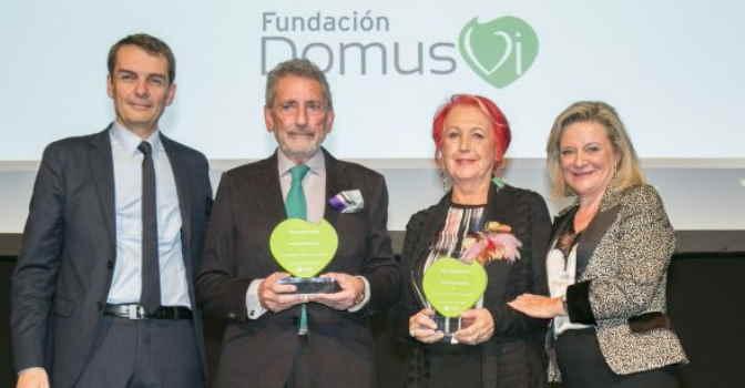 Fundación DomusVi entrega sus premios 2019 en una emotiva gala