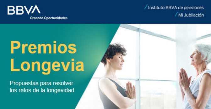 Premios Longevia del Instituto BBVA de Pensiones abren convocatoria