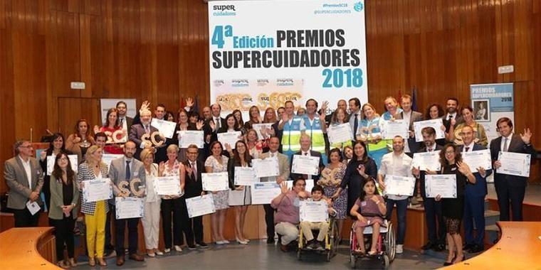 Los Premios Supercuidadores 2018 distinguen a Ilunion, Eulen y L'Onada en el Sector Sociosanitario