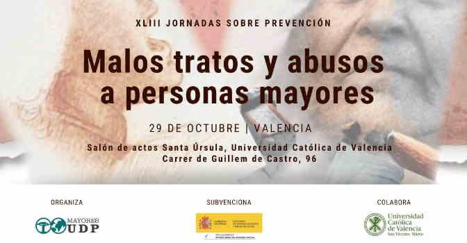 UDP celebra jornada sobre prevención de malos tratos a mayores