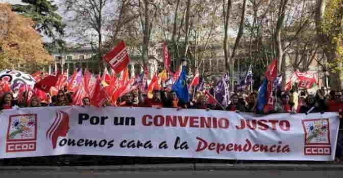 Trabajadores de la dependencia secundan movilización para exigir mejoras laborales