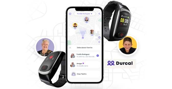 Así es la pulsera para cuidar a personas mayores de Durcal