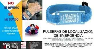 """Las pulseras de emergencia """"No me olvides si me olvido"""""""