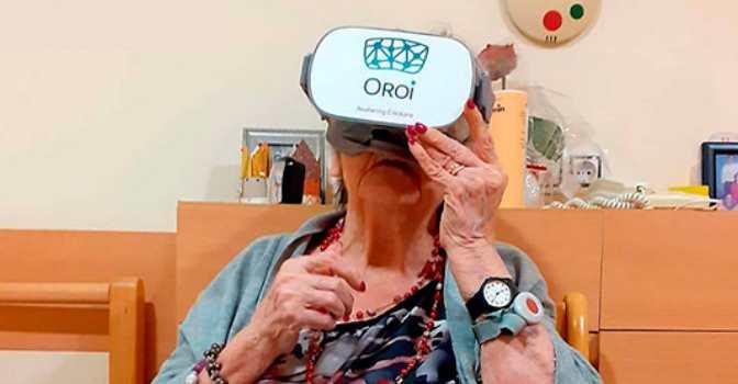 Realidad Virtual en residencias de mayores.