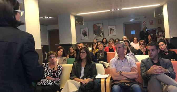 Imagen de la jornada 'El Caos de la Dependencia', celebrada en octubre en Pamplona (Navarra) y donde se ha puesto de manifiesto que las subvenciones para plazas residenciales son un 12 % inferiores al coste de las mismas.