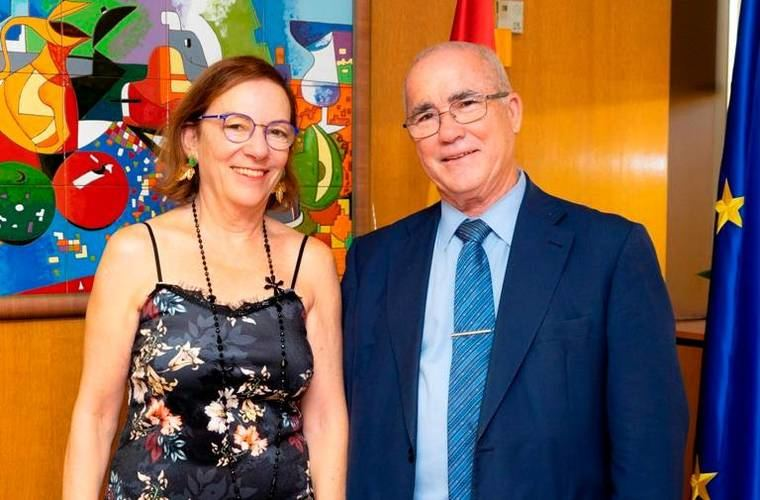 La directora general del Imserso recibe al editor de NGD