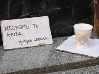 Pobreza en España: 10 millones de personas están en riesgo
