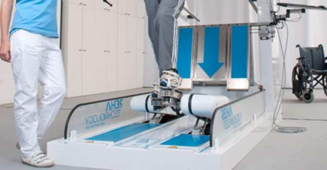 Grupo 5 incorpora el robot para neurorrehabilitación G-EO System en el CIAN Navarra.