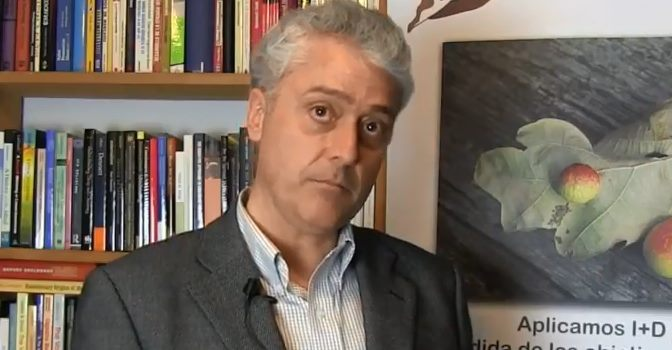 Rubén Muñiz es presidente de la Fundación Maria Wolff y su director de Investigación.