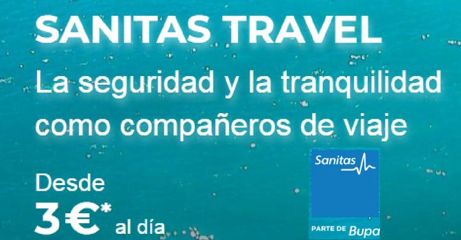 La fórmula de viajar seguros con Sanitas Travel y el apoyo de Zurich