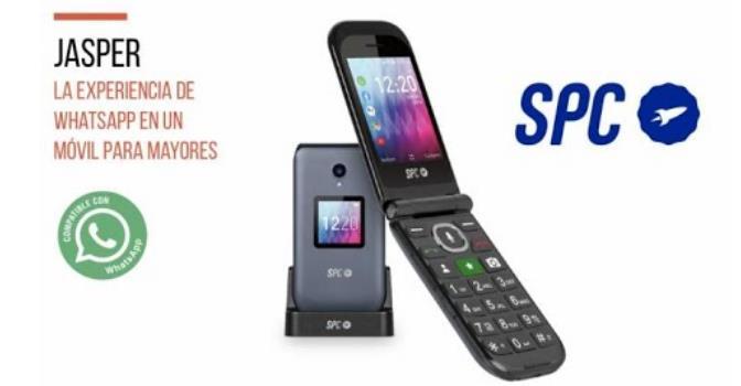 SPC Jasper, móviles para personas mayores que viven en residencias.