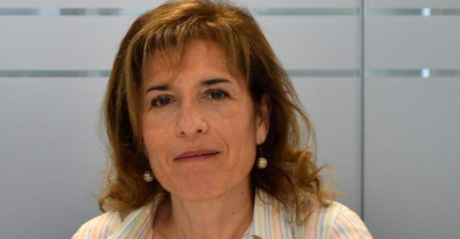 Salomé Martín explica los detalles de la ponencia de EULEN Sociosanitarios en el XXX Seminario AISOC, celebrado el 19 de julio en Toronto (Canadá).