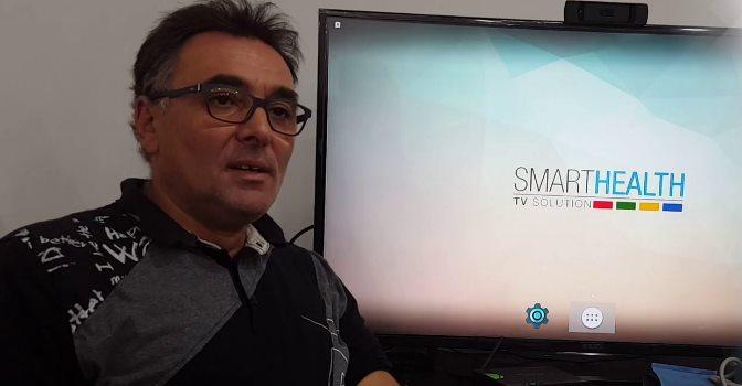 Raúl Herrero, gerente de Smarthealth TV, una plataforma de televisión interactiva para personas mayores.