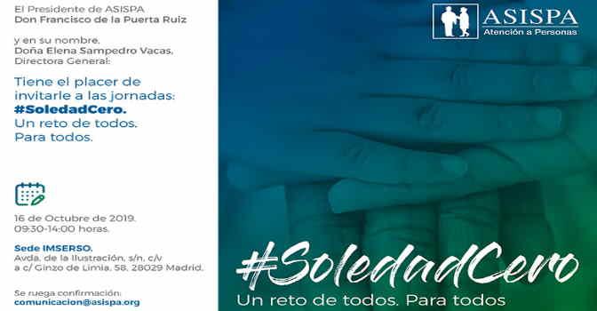 ASISPA celebra la jornada '#SoledadCero, un reto de todos, para todos'