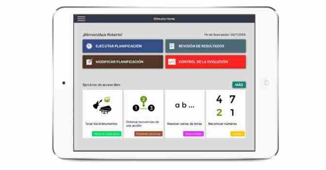 Stimulus es una innovadora app que ofrece ejercicios de estimulación cognitiva que ahora podrán utilizar residentes en municipios de la Diputación de Málaga.