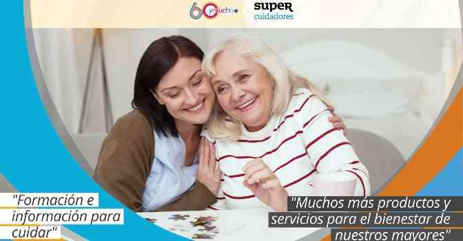 SUPERCUIDADORES se une a 60ymucho+ para ofrecer servicios a personas mayores