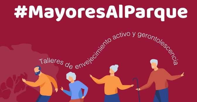 Los talleres para mayores se pasan al parque en Sevilla para evitar contagios con #MayoresalParque de Fundación Doña María.