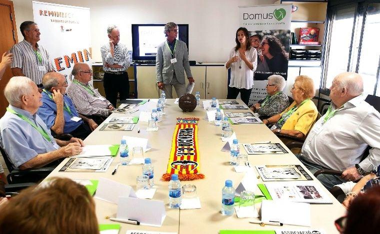 DomusVi desarrolla talleres contra el alzhéimer a través del fútbol y sus recuerdos imborrables