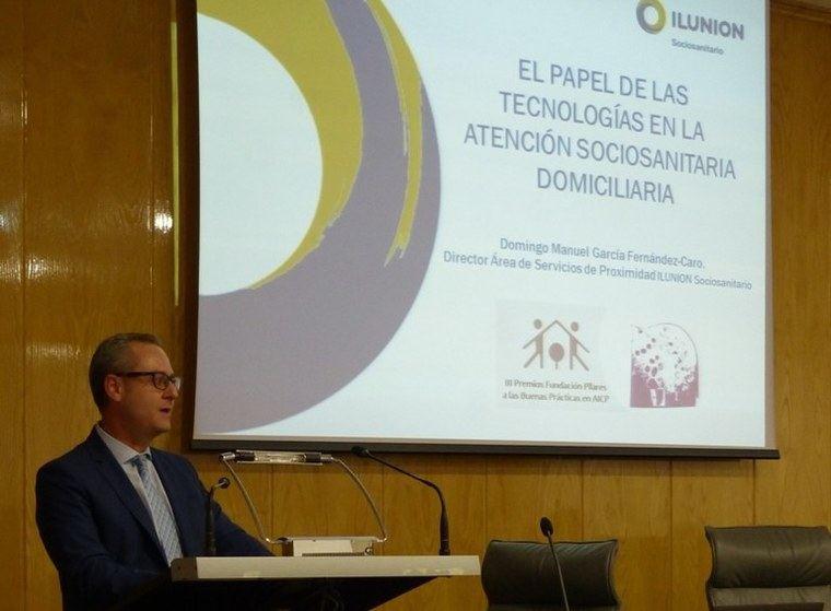 Ilunion defiende la tecnología en movilidad para los mayores activos en los servicios sociosanitarios