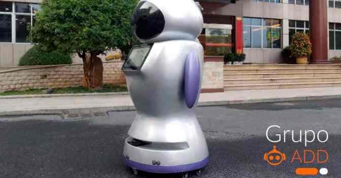 Llegan los robots sanitarios para luchar contra el coronavirus en residencias de mayores.