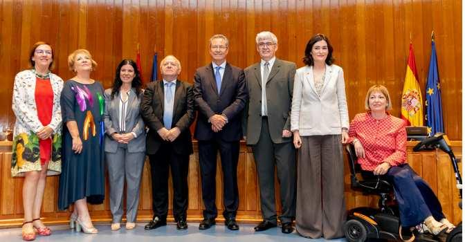 NGD Gestión y Dependencia en la toma de posesión de los nuevos altos cargos del Ministerio de Sanidad, Consumo y Bienestar Social