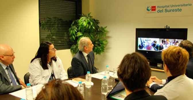 Videoconsulta geriátrica en residencias de mayores y hospitales de Madrid