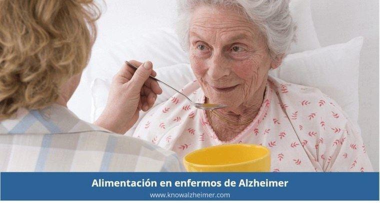 Visto en Internet Consejos de alimentación en el paciente de Alzheimer
