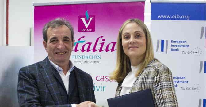 Vitalia Home construirá 19 residencias de mayores gracias al BEI