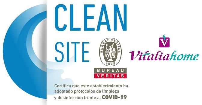 Vitalia Home, certificada por Bureau Veritas como centros libres de coronavirus.