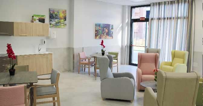 La residencia de mayores en Torrejón de Ardoz, de Vitalia Home, acaba de abrir sus puertas.