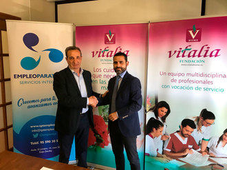 Vitalia Home destinará a personas con diversidad funcional el 10 por ciento de sus puestos de trabajo en toda España