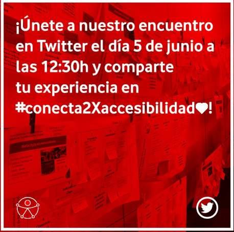 """Fundación Vodafone España convoca III Encuentro """"Conectados por la accesibilidad"""""""
