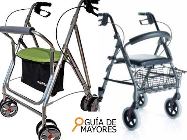 Comprar andadores subvencionados para mayores