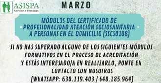 Asispa te prepara para la certificación de módulos CPAS