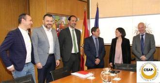 CEAPS y el director del IMSERSO analizan la subida PVES