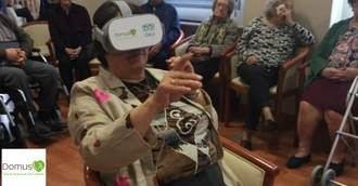 DomusVi integra gafas 3D su nuevo proyecto de realidad virtual