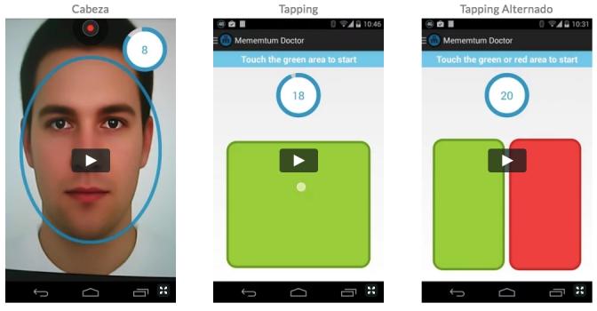 Mementum, una app para ayudar en el diagnóstico de las personas con trastornos de movimiento.