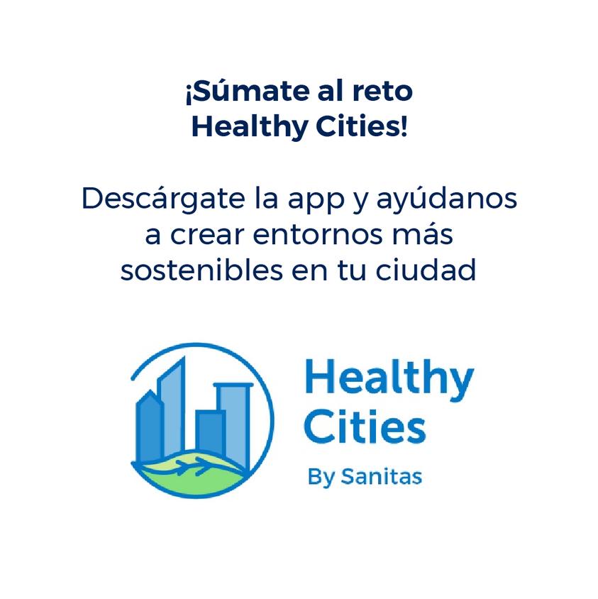 ¿QUÉ ES HEALTHY CITIES? by Sanitas