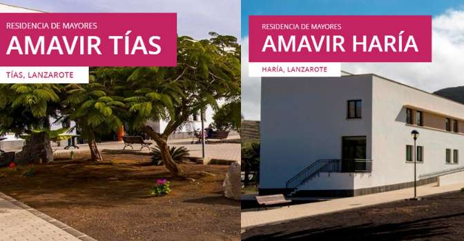 """Amavir obtiene en Lanzarote la acreditación de """"Centros Libres de Sujeciones"""""""