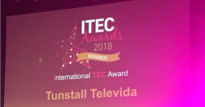 Tunstall Televida es galardonada con el premio internacional TEC